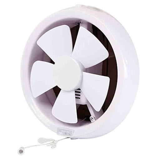 YGB Nuevo Ventilador, Ventilador de Escape Redondo, Ventilador de Escape de Obturador de Grado Profesional para ventilación hidropónica de Granero de Poste de Garaje
