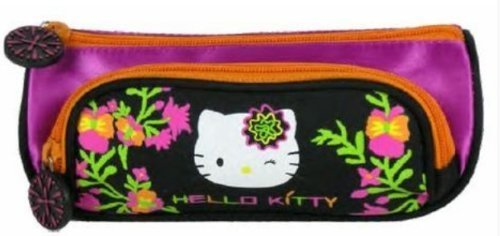 Hello Kitty - Trousse Double Compartiment (Trousse...