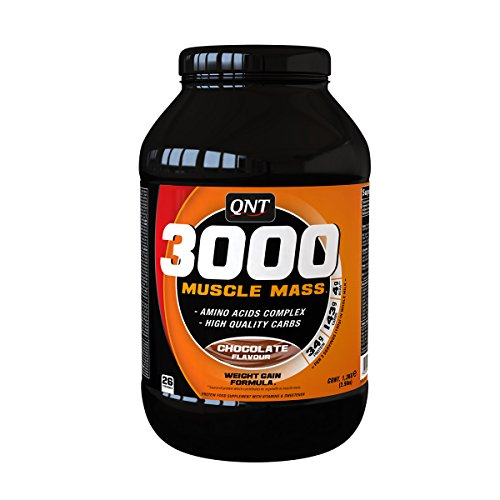 QNT 3000 MUSCLE MASS 1,3 KG - Sabor - Chocolate