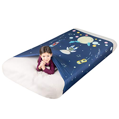 FRIENDLY CUDDLE Sensory Compression Sheet for Kids, Twin...
