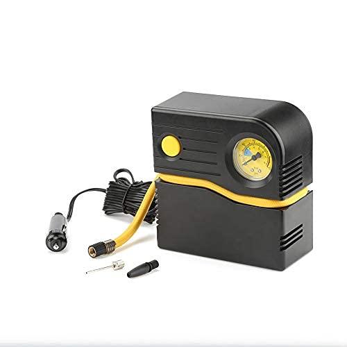 Bomba de aire para inflables y neumáticos, compresor de aire portátil del inflador de neumáticos para el coche SUV Motor Bike Truck