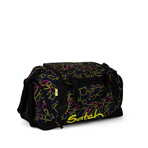 Satch Sporttasche Disco Frisco, 25l, Schuhfach, gepolsterte Schultergurte, Schwarz