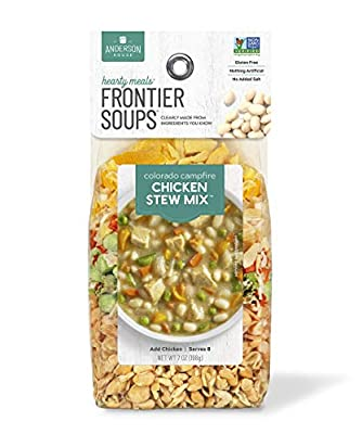 Frontier Soups Hearty Meal Soups Colorado Campfire Chicken Stew Mix