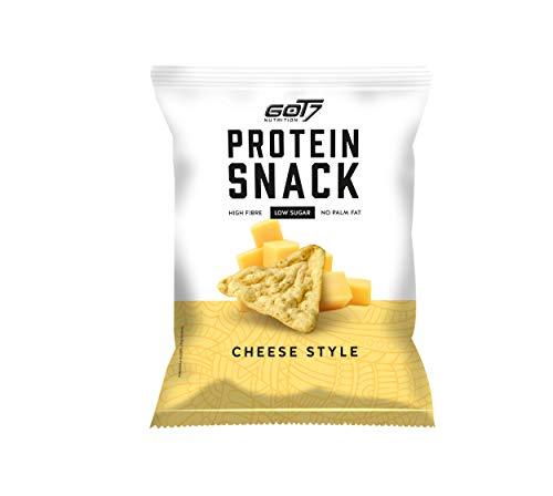 GOT7 High Protein Snack - 29% Eiweiß Fitnesssnack – Ideal zur Diät oder für zwischendurch 6x 50g (Cheese Style)