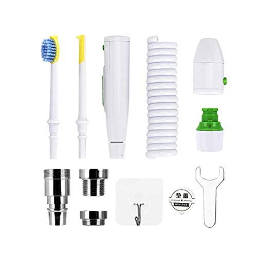 HAHASG Llaves Grifo Irrigador bucal Hilo de Agua Cepillo de Dientes de ortodoncia Limpieza Dental de los Dientes Braces Lavado con Hilo Dental