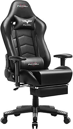 [Amazon.ca] Reg 321$ Now 195$ Ficmax Gaming Chair with Footrest Ergonomic