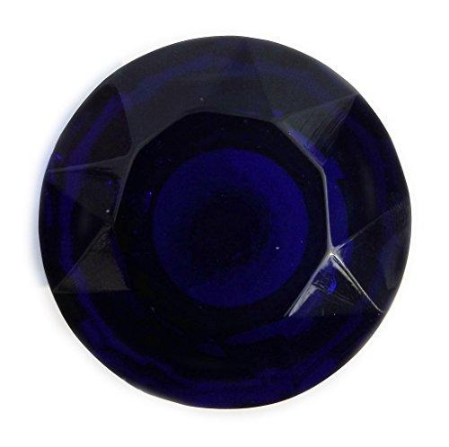 Peter Sharpe Poignées de placard et placard en verre bleu foncé Taille XL