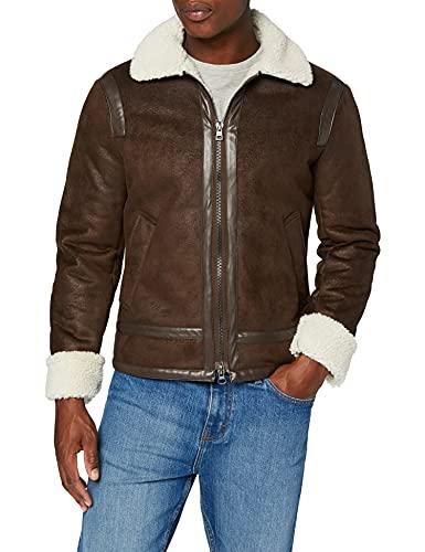 Gas Jeans Topeka M. Giacca Sportiva, Marrone (Bracken 5010), Medium (Taglia Produttore:48) Uomo