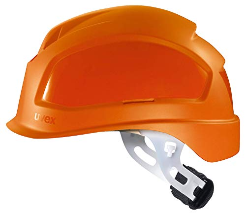 Uvex Pheos E-S-WR - Casco protector para electricistas, color naranja 🔥