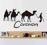 Decoración de la sala de estar pegatinas de pared de camello...
