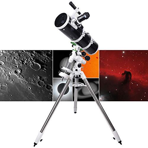 Teleskop Tragbares Astronomisches Teleskop Refraktor Teleskop für Einsteiger Amateur-Astronomen für Beobachtung von Himmel und Landschaft Geschenk für Kinder a