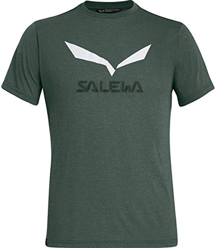 Salewa 00-0000027018_698 T-Shirt Homme Deep Forest Mélange FR: XL (Taille Fabricant: 52/X-Large)