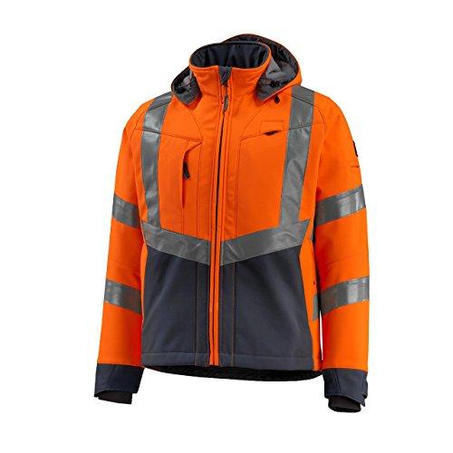 Mascot 15502-246-1418-L Jacke Softshelljacke Blackpool, orange/dunkelanthrazit, L