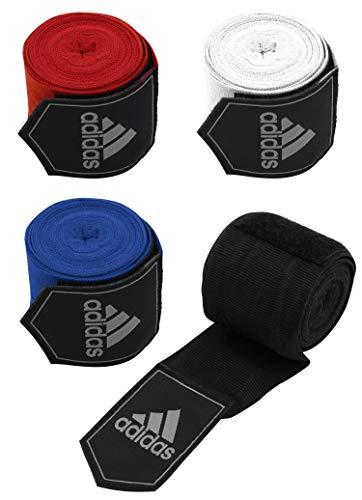 adidas Bandagen Boxing Crepe Bandage, black, 2 x 450cm, adibp03