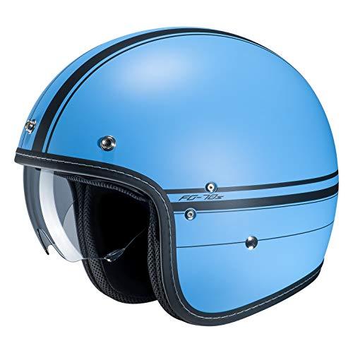 Cascos de moto HJC FG-70s LADON MC2SF, Bleu, XS