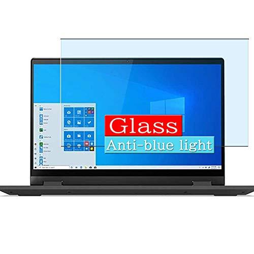 VacFun Filtro Luz Azul Vidrio Templado Protector de Pantalla, compatible con Lenovo 14 IdeaPad Flex 5 Multi-Touch 2-in-1 14 Visible Area Cristal Screen Protector(cobertura no completa)