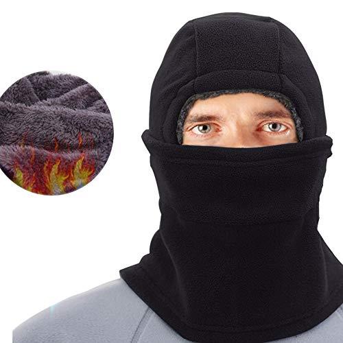 GNXTNX Unisex Sombrero de Invierno Sombrero de Felpa Sombrero a Prueba de Viento Sombrero Caliente Gorro Antipolvo Sombrero de Esquí Ciclismo,Azul