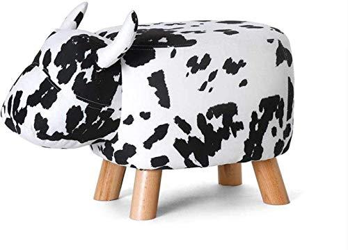 ASDFGH bares, cafeterías, sillas de restaurantes, sillas, bancos, bancos, animales domésticos, forma de vaca, pequeño taburete, sofá, juguetes infantiles, 5 colores