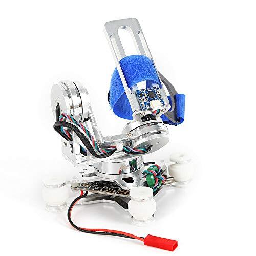 BTdahong - Estabilizador de 3 Ejes para cámaras réflex Digitales Gopro 3/4, 6-18 V, Color Plateado