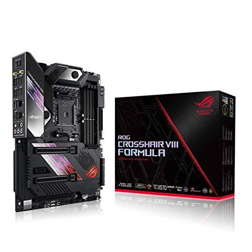 Asus ROG X570 Crosshair VIII Formula AM4 Zen 3 Ryzen 5000 & 3rd Gen Ryzen ATX Motherboard with PCIe...