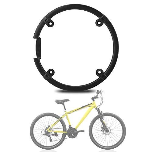 Yosoo Health Gear Mountain Bike Chain Guard, Black Plastic Bicycle Chain Sprocket, Chain Wheel Crankset Protector Cover for Mountain Bike
