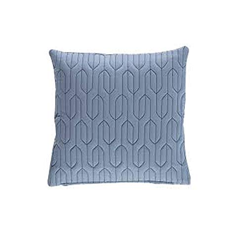 Scantex Kissenhülle Art Deco Hellblau 40 x 40 cm, 2 Stück, 100% Baumwolle