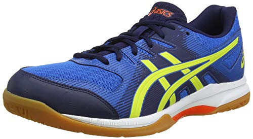 ASICS Herren Gel-Rocket 9 Volleyballschuhe, Blau (Blue 1071A030-400), 42.5 EU