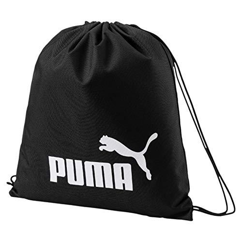 Puma Phase, Sacca Sportiva Unisex-Adulto, Nero Black), Taglia unica