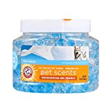 Arm & Hammer for Pets Air Care Pet Scents Deodorizing Gel Beads in Fresh Breeze | 12 oz Pet Odor Neutralizing Gel Beads with Baking Soda | Air Freshener Beads for Pet Odor Elimination (FF12689)