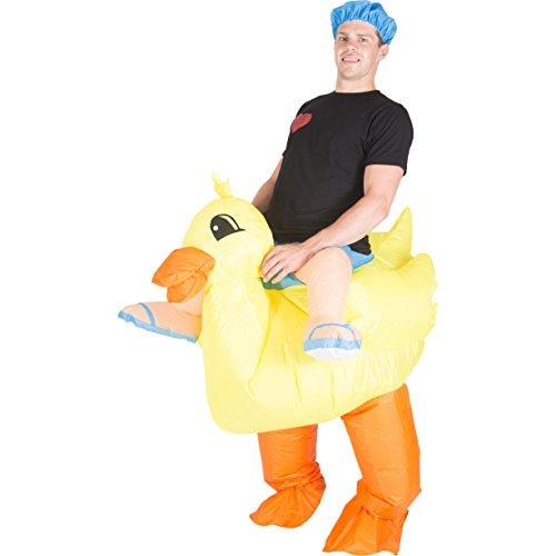 Bodysocks® Disfraz Hinchable de Pato Adulto