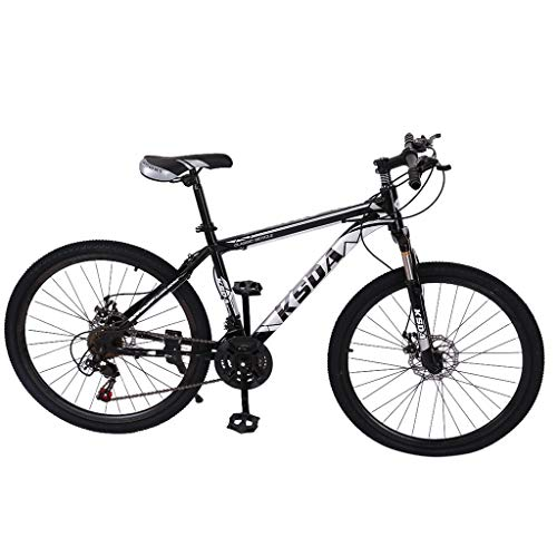 Youdw 26 Inch Bike, Junior Aluminum Full Mountain Bike, Stone Mountain 21-Speed Bicycle Adult Non-Slip Bicycle