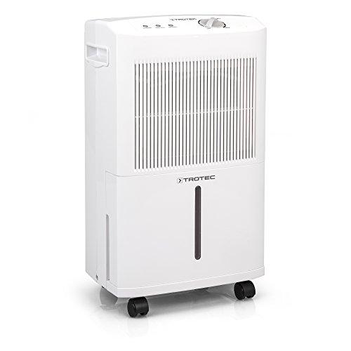 TROTEC Komfort Luftentfeuchter TTK 50 E (max.16 L/Tag), geeignet für Räume bis 78 m³ / 31 m²