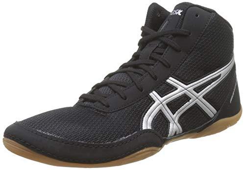 ASICS Matflex 5 J504N 9093, Chaussures de Lutte Mixte, Noir/Argent, 41.5 EU