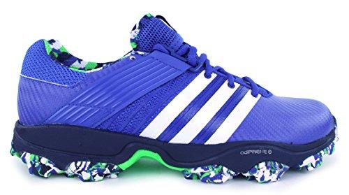 adidas Adidas Adistar Hockey Schuh 4m blau weiß, UK 3,5