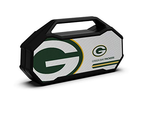 Green bay packers branded logo bluetooth speaker