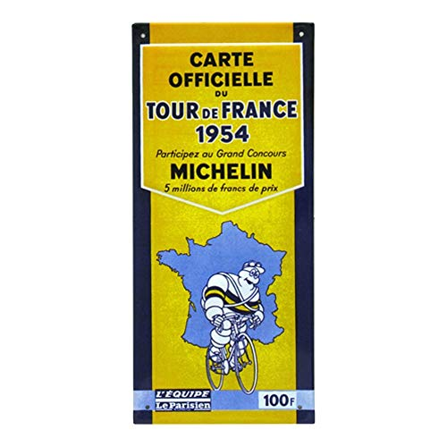Officiële kaart 1954 - Tour de France - Michelin