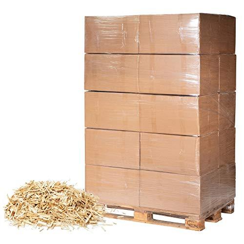 Jumbogras® Großtier- Pferdeeinstreu aus Miscanthus|Elefantengras|Chinagras-Häcksel, Streu statt Stroh, Holz, Sägespäne, Pellets in Box|Stall|Paddock Mist-frei (10 x 24 kg Vorratspack)