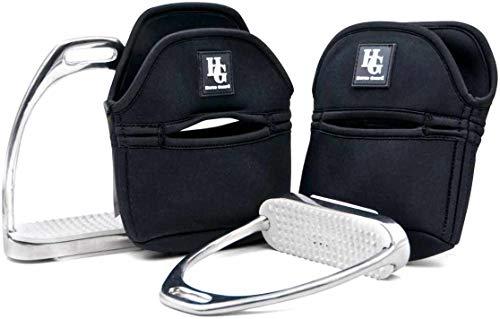 Reitsport Amesbichler HorseGuard Steigbügelschoner Steigbügelschützer aus Neopren 1 Paar Schutzhülle für Steigbügel Sattelschutz, Stirrup Cover