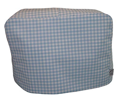 cozycoverup® Staub Cover für Mixer in blau Gingham (Andrew James)