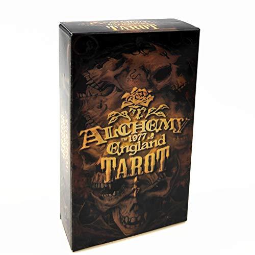 WQCC Tarot Cartas De Tarot, Cartas De Tarot De Alquimia Inglesa, Juegos De Mesa