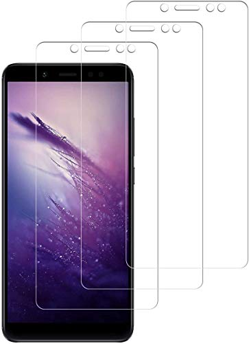 SNUNGPHIR Cristal Templado para Xiaomi Redmi Note 5, 3 Piezas Cobertura Completa Protector Pantalla para Xiaomi Redmi Note 5, Dureza 9H Vidrio Templado Anti-Arañazos [Sin Cobertura Toda Pantalla]