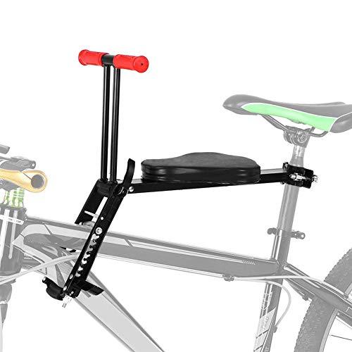 Seggiolino per bicicletta anteriore per bambino, seggiolino per auto, mini seggiolino da bicicletta, seggiolino per bambini con manubrio...