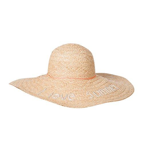 CODELLO Sonnehut aus Bast Beige