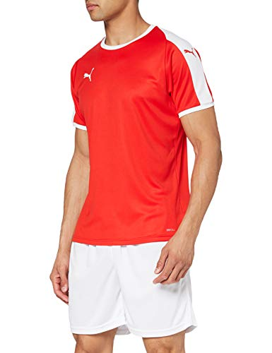 PUMA Herren LIGA Jersey Red White, XL