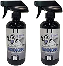 Smokers Odor Eliminating Spray Completely removes Smoke Odors. Proven Formula Using OAM Technology That Safely removes Odors for Good. - Pleasant Bamboo Teak Scent- 2 16 oz Bottles