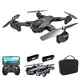 GoolRC VISUO XS812 Drone con Cámara 4K Drone GPS 5G WiFi FPV Drone Plegable Modo sin Cabeza GPS Seguimiento de Gestos Disparo con una Tecla de Retorno Drone para Adultos