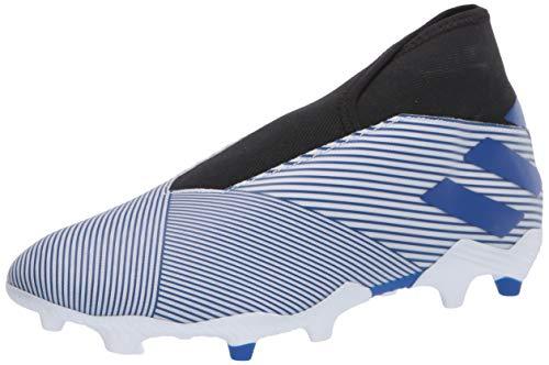 adidas Men's Nemeziz 19.3 Ll Fg Sneaker, FTWR White/Team Royal Blue/core Black, 13 M US