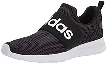 adidas mens Lite Racer Adapt 4.0 Running Shoes Black/White/Black 10.5 US