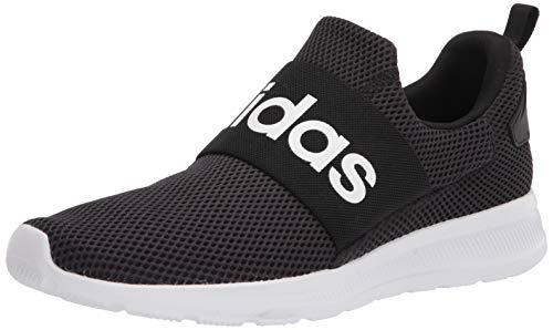 adidas Men's Lite Racer Adapt 4.0 Running Shoes, Black/White/Black, 9