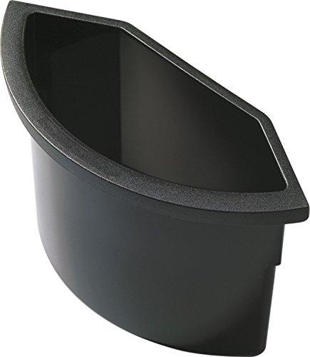 """Helit H6106795 - Abfalleinsatz \""""the collector\"""" 2 L, zum Einhängen, schwarz"""